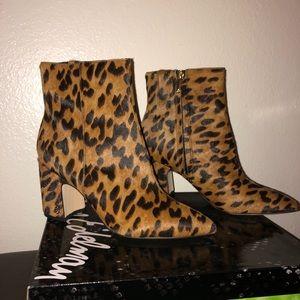 Sam Edelman Hilthy Leopard Bootie